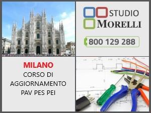 Corso aggiornamento PAV PES PEI in aula 27 settembre 2021 Milano
