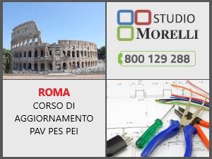 Corso aggiornamento PAV PES PEI in aula 08 novembre 2021 Roma