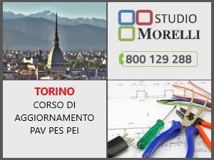 Corso aggiornamento PAV PES PEI in aula 01 dicembre 2022 Torino